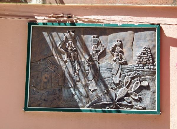 Dorgali - raffigurazione di vita tradizionale