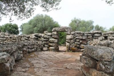 Il villaggio nuragico nei pressi dell'Agriturismo Biriddo